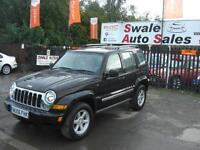 2006 JEEP CHEROKEE LIMITED 2.8TD ONLY 68,545 MILES, 4 WHEEL DRIVE