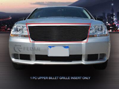 Fits 2008 09 10 Dodge Avenger Black Replacement Billet Grille Upper Insert Fedar