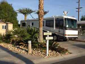 RV Lot And Shed in Indio California