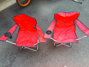 Kids camping chairs