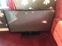 """50"""" LG plasma TV 1080p Full HD"""