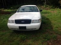 TWO Crown Vic Interceptors - $2100 EACH TAX INCLUDED DRIVE AWAY!