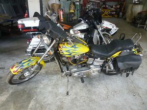 1985 Harley Davidson Softtail 80Cu In. Motorcycle