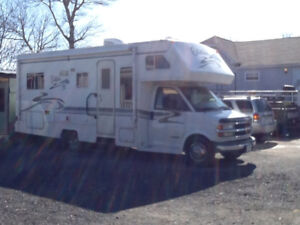 25ft well maintained chev RV.     This is located in cape breton