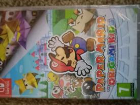Paper mairo brand new switch game sealed