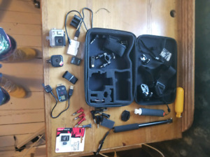 GoPro Bundle (2 Cameras, batteries and accessories) OBO