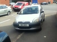 toyota yaris gs 998cc 5dr in silver with tax & mot look
