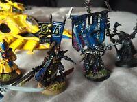 Warhammer 40k pro painted elder army
