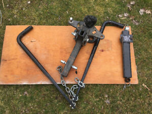 Weight distribution hitch and sway bar for sale