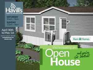 Open House on Mini-Homes this Week-End in Bedford