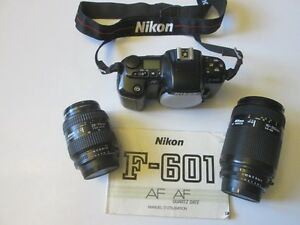Ensemble Nikon - caméra photo et 2 objectifs zoom