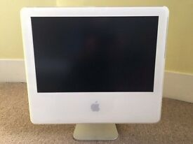 "Apple iMac G5 ‑ 17"" LCD For parts or repairs"