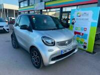 2017 smart fortwo coupe 0.9 Turbo Prime Premium 2dr Auto COUPE Petrol Automatic