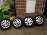15 inch alloy wheels with great tyres