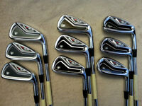 NEW Taylormade R9 TP Iron Set 2-PW TOUR ISSUE SST PUREd DG X