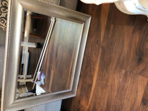 Beautiful silver large mirror - $20 EUC