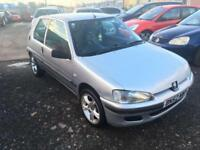 2002/52 Peugeot 106 1.1 Ltd Edn Independence LONG MOT EXCELLENT RUNNER