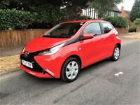 2017 Toyota AYGO 1.0 VVT-i ( 68bhp ) x-play ONLY 12K + AIR CON + REVERSE CAMERA