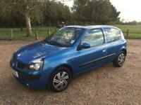 2001 Renault Clio 1.5 dCi 65 Expression * Long MOT until 29th of June 2021 * HAT