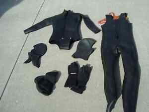 Wetsuit and accessories