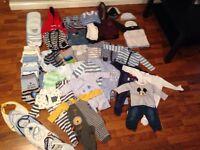 Baby boy clothing bundle 3-6 months