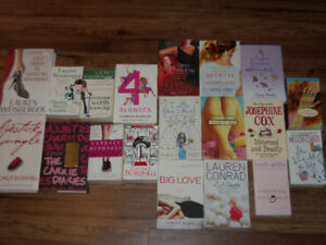 """CHICK LIT BOOKS *PERFECT SUMMER READING""""  **$25 FOR ALL**"""