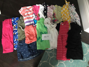 Toddler size 2 summer clothes