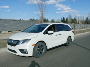 2018 Honda Odyssey EXL RES Lease takeover Diamond white