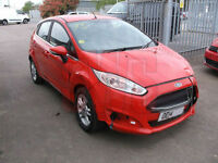 2014 Ford Fiesta Zetec 1.0 5dr DAMAGED REPAIRABLE SALVAGE