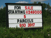 Land Sale BUILD in STRATHCONA COUNTY 5 Lots..