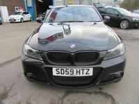2009 59 BMW 3 SERIES 2.0 318D M SPORT 4D 141 BHP DIESEL