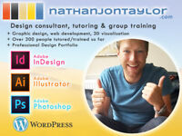 Designer & Tutor - Graphic, Web, 3D Viz & Project Work - InDesign, Illustrator & Wordpress Training