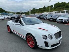image for 2012 12 BENTLEY CONTINENTAL GTC 6.0 SUPERSPORTS ISR 631bhp Convertible in White