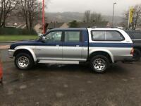 2001 MITSUBISHI L200 4LIFE DCB 4WD 2.5 DIESEL TOWBAR CARRY CAB 4X4 DIESEL