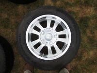 BF Goodrich Winter Slalom KSI 215/65R/17 mounted on DIP wheels