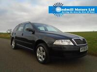 2008/08 SKODA OCTAVIA 1.9 TDI PD AMBIENTE 5DR ESTATE BLACK - SPACIOUS