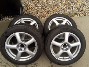 245/50 R18 Michelin X-ice Run Flat Winter Tires - PRICE REDUCED