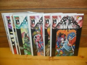 12 Battle of the Planets Comics $5 each