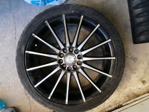 Mag ADR Design et pneus 18 pouces 225/40ZR18