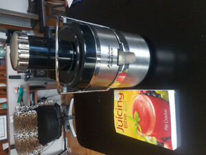 Juicer and juice book