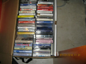 cassettes tapes assorted to many to list vhs and dvd