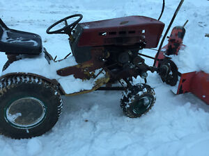 Parting out 1978 Sears gt16 tractor