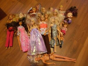 New and Vintage Barbies and Accessories