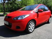 07/57 MAZDA 2 1.3 TS2 5DR HATCH IN RED WITH SERVICE HISTORY