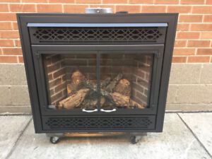 "Napoleon 36"" Direct Vent Gas Fireplace"