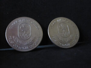 Olympic Trust Of Canada Medals/Coins--Mint Condition