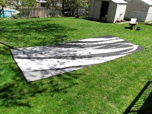 Outdoor RV mat