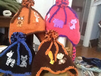 Childrens winter hats
