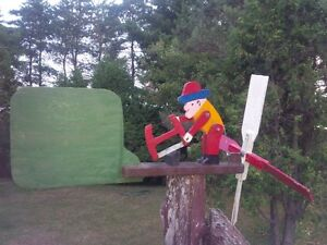 Folk Art Whirligig West Island Greater Montréal image 1
