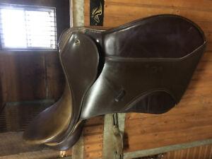 Keiffer Garmisch AJ, A/P saddle